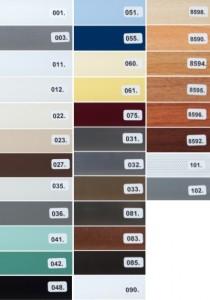 Säleiden värivaihto ehdot