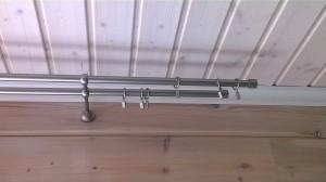 Mattakromi 19 mm tuplatangot, 2 os. kannakkeet ja Duo päädyt